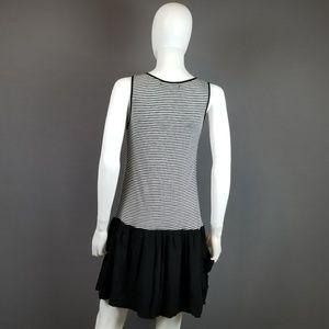 Zara Dresses - ZARA Basic L Striped Pocket Dress